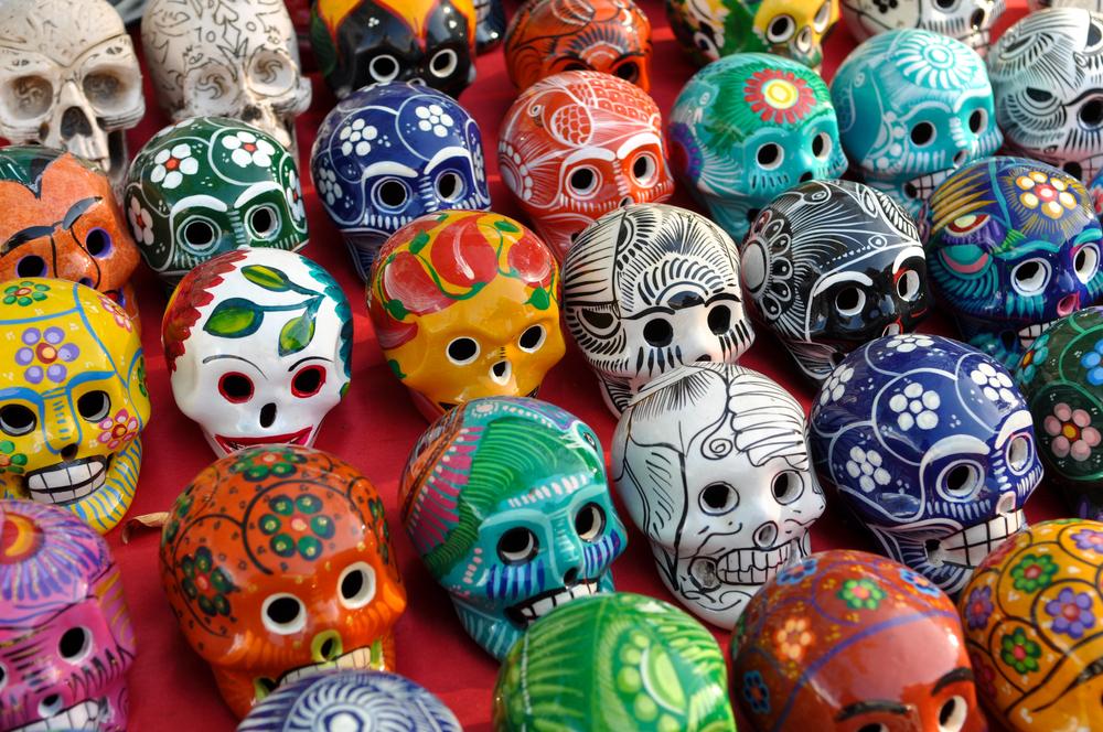 Meksyk - Dzień Zmarłych