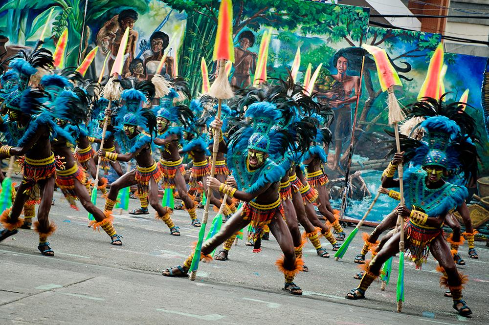 Dinagyang - festiwal na Filipinach