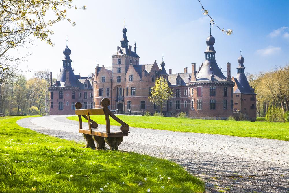 Flandria Wschodnia - zamek Ooidonk