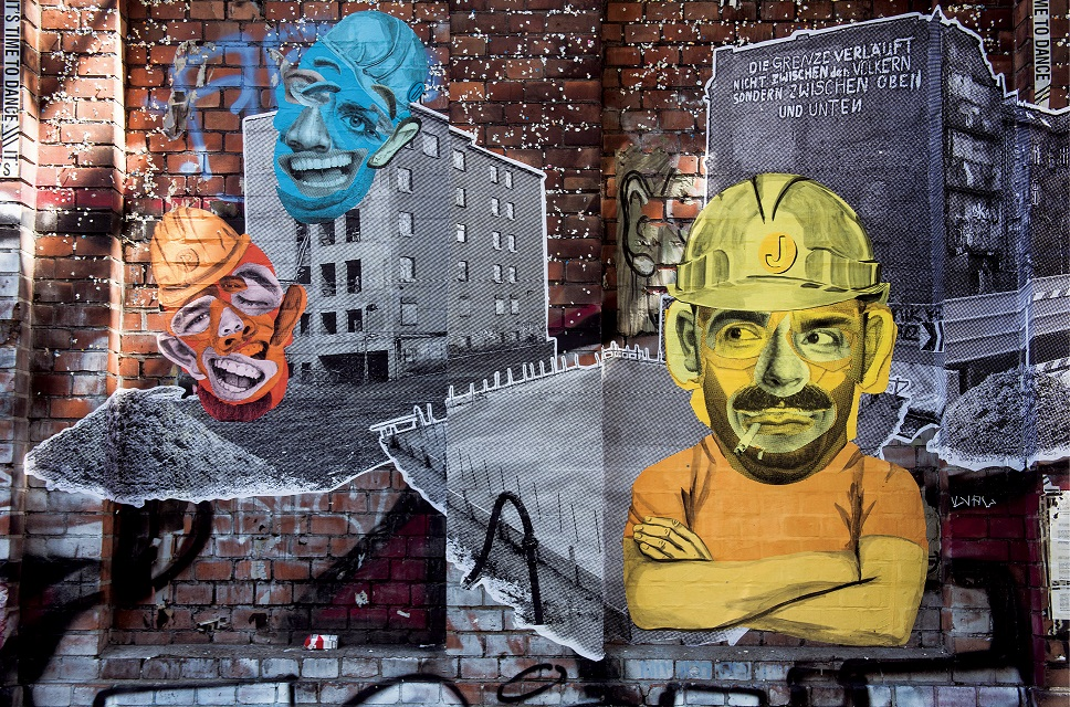 Maik, Paul i Jörg – bohaterowie streetartowego komiksu