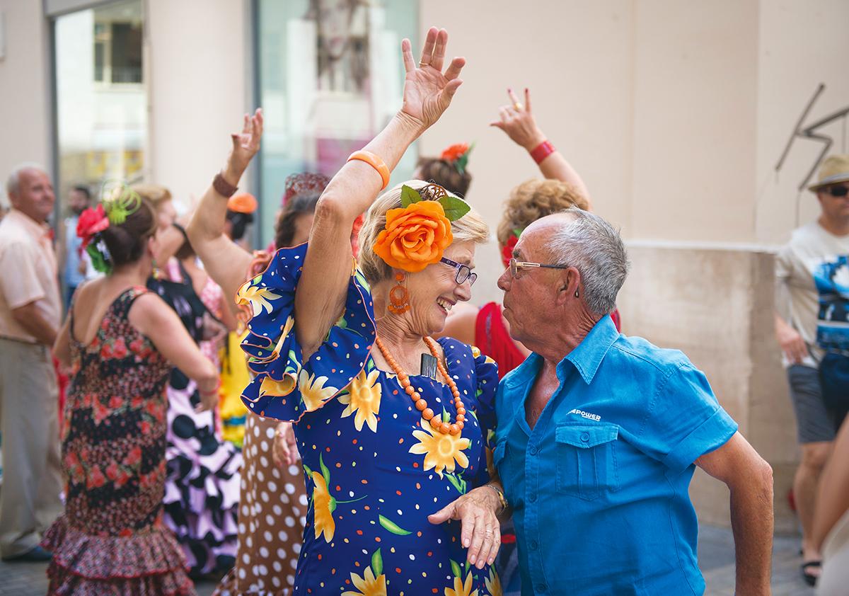 Feria de Malaga: sevillanas
